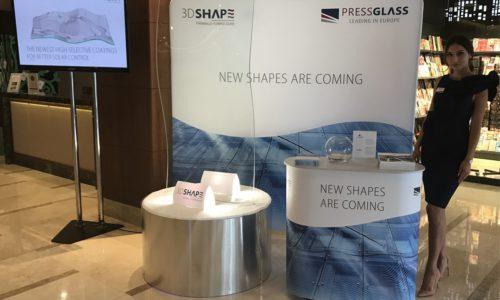 PRESS GLASS: Polska prapremiera produktu 3D SHAPE GLASS