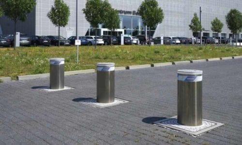 Hörmann poszerza ofertę osłupki parkingowe, zapory iszlabany