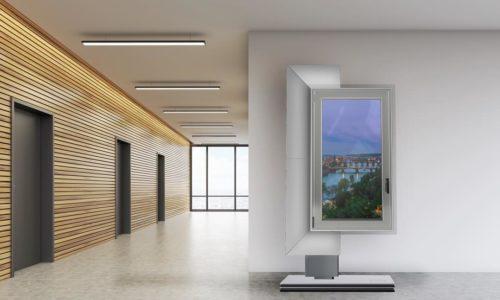 Cyfrowe ekspozytory wsalonach okiennych?