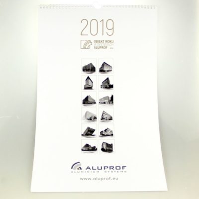 Kalendarz ścienny: Aluprof