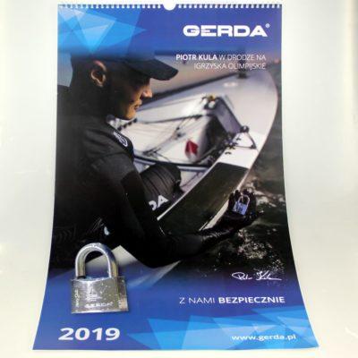Kalendarz ścienny: Gerda