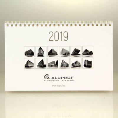 Kalendarz biurkowy: Aluprof