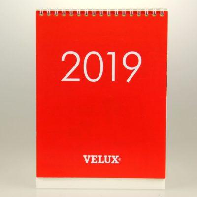 Kalendarz biurkowy: Velux