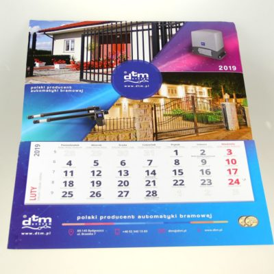 Kalendarz dzielny: DTM System