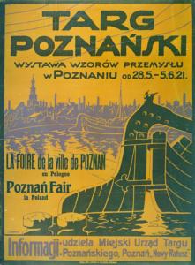 pierwszy targ poznański 1921