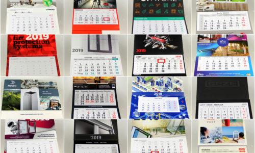 Konkurs: najładniejsze kalendarze branżowe 2019 r.