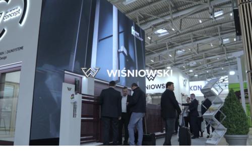 Wiśniowski na targach Bau 2019