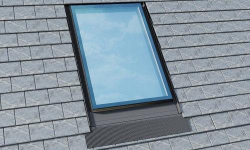 OKPOL: Okno dachowe zkołnierzem gumowym