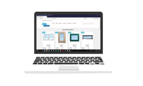 Eko-Okna uruchamiają sklep internetowy zoknami