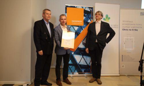 Swisspacer –  ambasador konkursu TOPTEN okna 2019