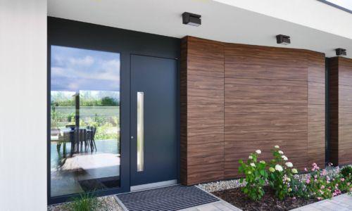 Drzwi wejściowe HT 410 – ciepłe, estetyczne ibezpieczne