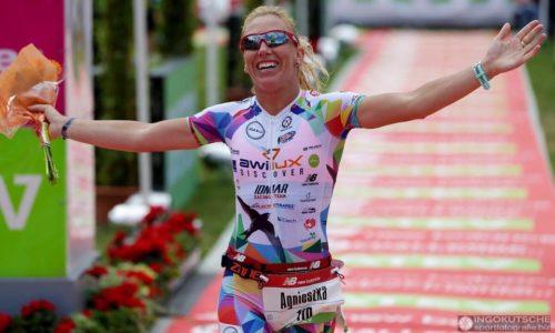 Agnieszka Jerzyk z rekordem Polski w triathlonie