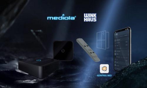 Winkhaus iMediola łączą siły narzecz smart home