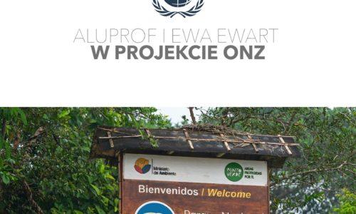 Aluprof wraz zEwą Ewart wprojekcie ekologicznym