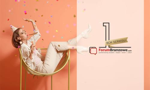Pierwsze urodziny serwisu ForumBranzowe.com!