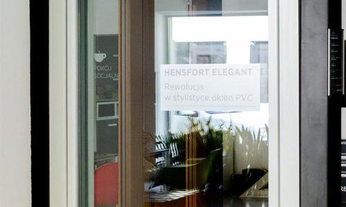 Nowatorski system okienny HENSFORT Elegant wsprzedaży jeszcze wtym roku