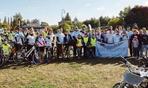 """""""Sport and support"""" łączy rowerowe pokolenia"""