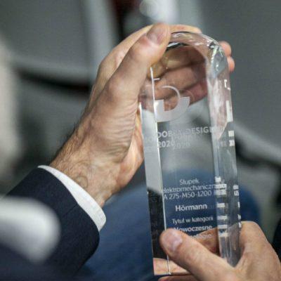 Hörmann  iLeon Witas laureatami konkursu Dobry Design 2020
