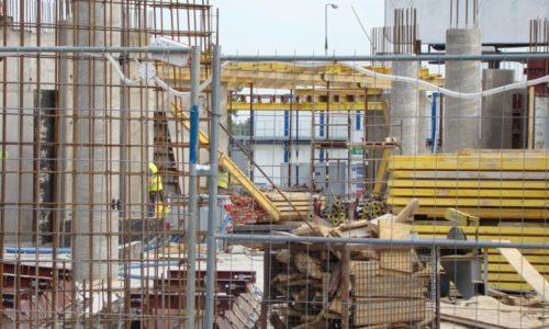 Coraz mniej upadłości wbranży budowlanej
