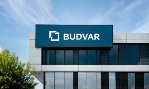 BUDVAR znową strategią inowym logo