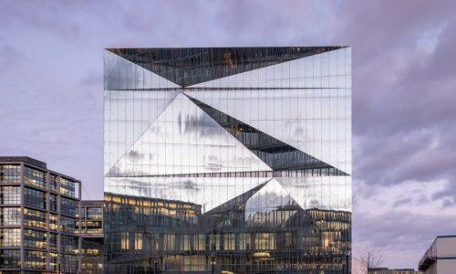 cube berlin: Fasada zpodwójną skórą