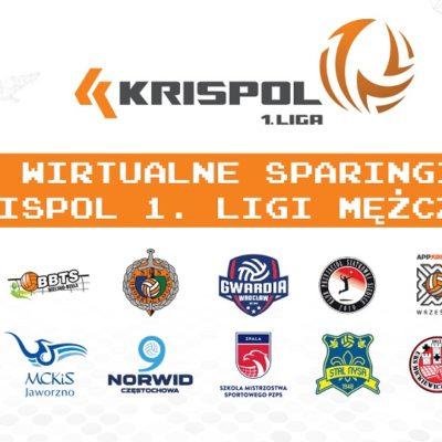 Kluby KRISPOL 1. Ligi #zostająwdomu i grają