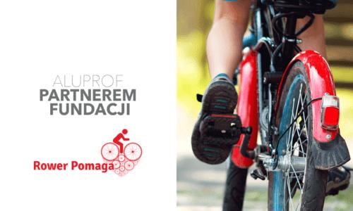 Aluprof partnerem akcji Rower Pomaga