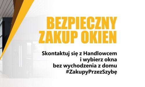 Bezpieczne zakupy przez szybę… OknoPlus