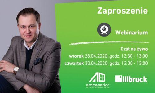 Szkolenia online wmiejsce Akademii Ambasadora 2020