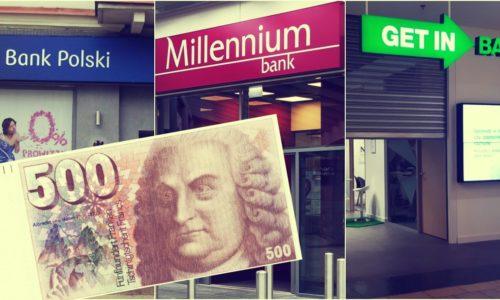 Złe wiadomości z banków