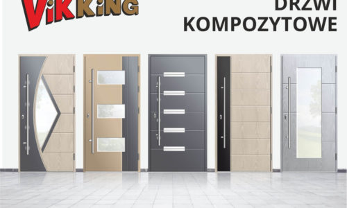 Innowacyjne drzwi kompozytowe wofercie VIKKING