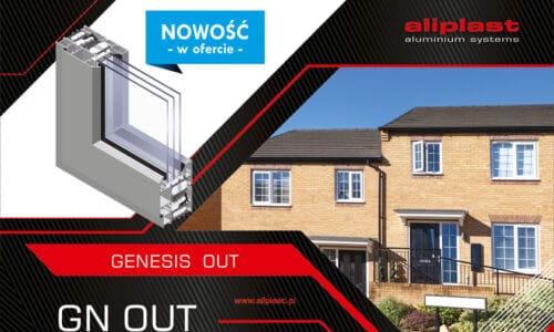 Genesis OUT – system okienny Aliplast