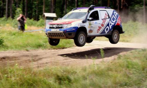 Przedstawiciel Aluplast wystartował w Rajdowych Mistrzostwach Polski Samochodów Terenowych