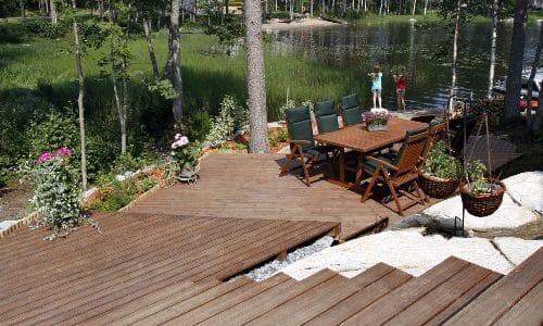 Drewno termowane – idealne na taras?