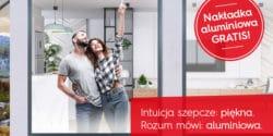 Nakładka aluminiowa gratis do wybranych okien Internorm