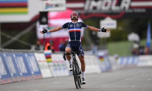 Zawodnik z Deceuninck-Quick-Step Mistrzem Świata Imola