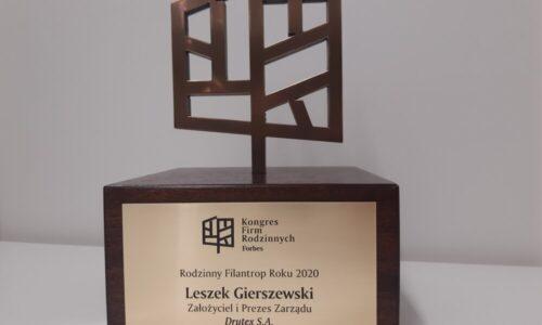 Leszek Gierszewski Filantropem Roku