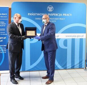 Pilkington Automotive Poland z nagrodą od Państwowej Inspekcji Pracy