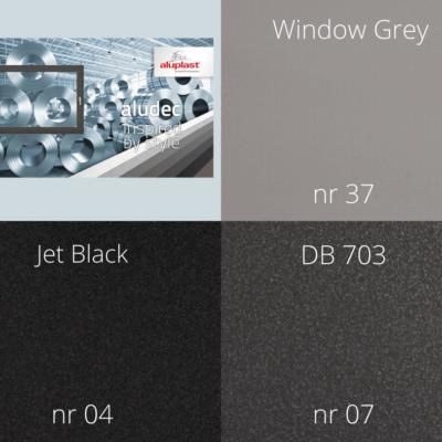Termo Profil przedstawia 7 kolorów folii