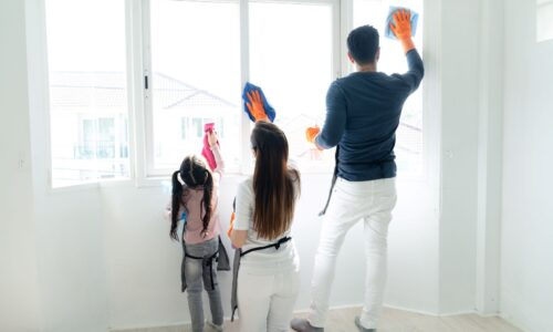 Jak okna mogą myć się same?