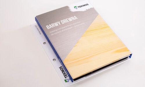 Nowy wzornik Barwy Drewna