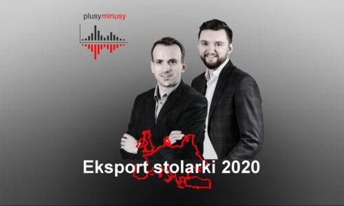 Plusy, minusy #7 – Eksport stolarki 2020
