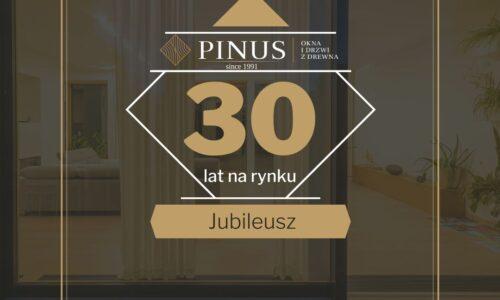 Stolarstwo tradycyjne – firma Pinus kończy 30 lat!