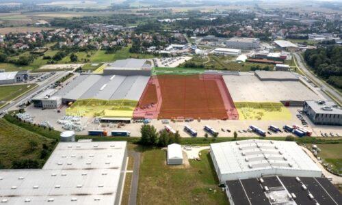 Wielki plac budowy w Alsecco