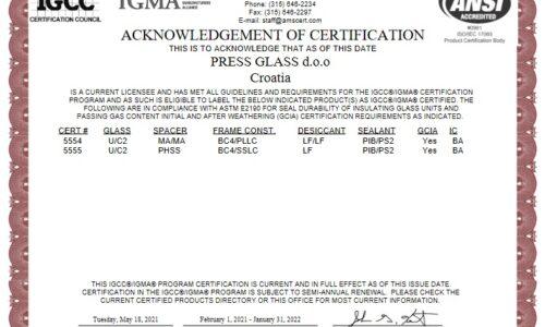 Nowy certyfikat IGCC/IGMA na rynek amerykański