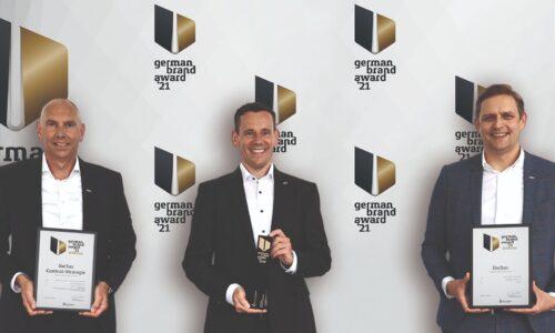 Potrójny sukces fischer na German Brand Award 2021