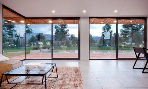 Co wpływa na komfort korzystania z dużych drzwi tarasowych?