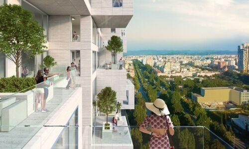 FISCHER: Downtown One, najwyższy wieżowiec w Tiranie