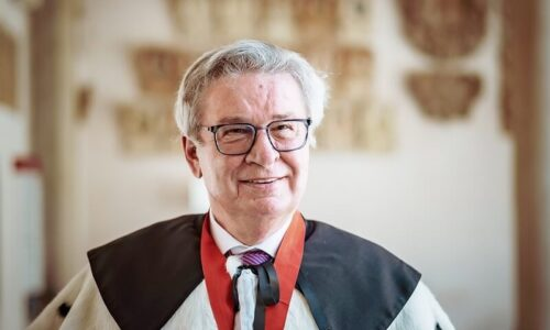 FISCHER: Doktorat honoris causa przyznany prof. Klausowi Fischerowi